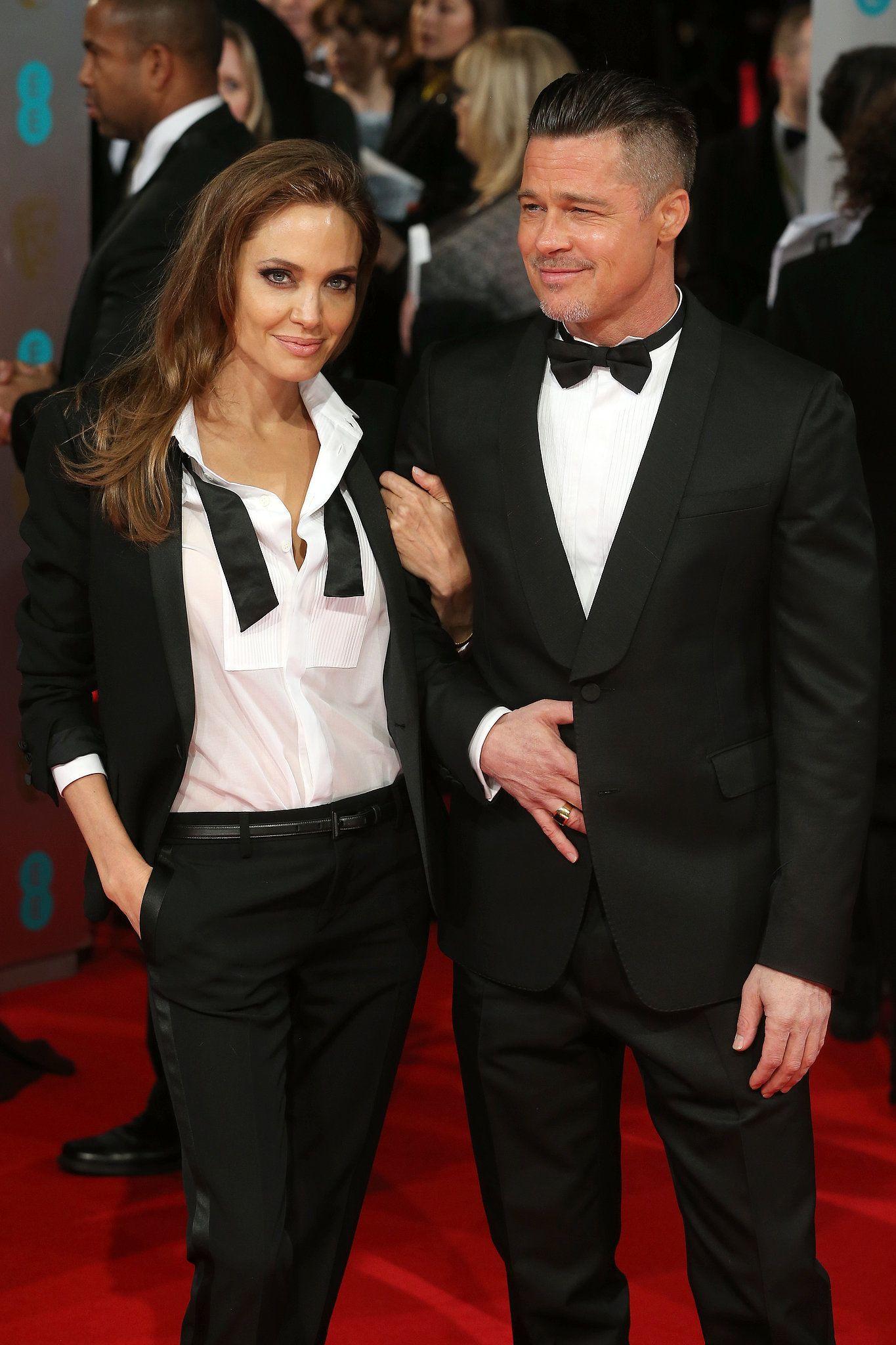 The Matching Moment Brad And Angelina Brad Pitt Brad Pitt And Angelina Jolie