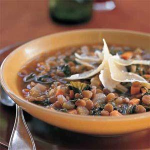 Lentil-Vegetable Soup   MyRecipes.com #MyPlate #vegetable