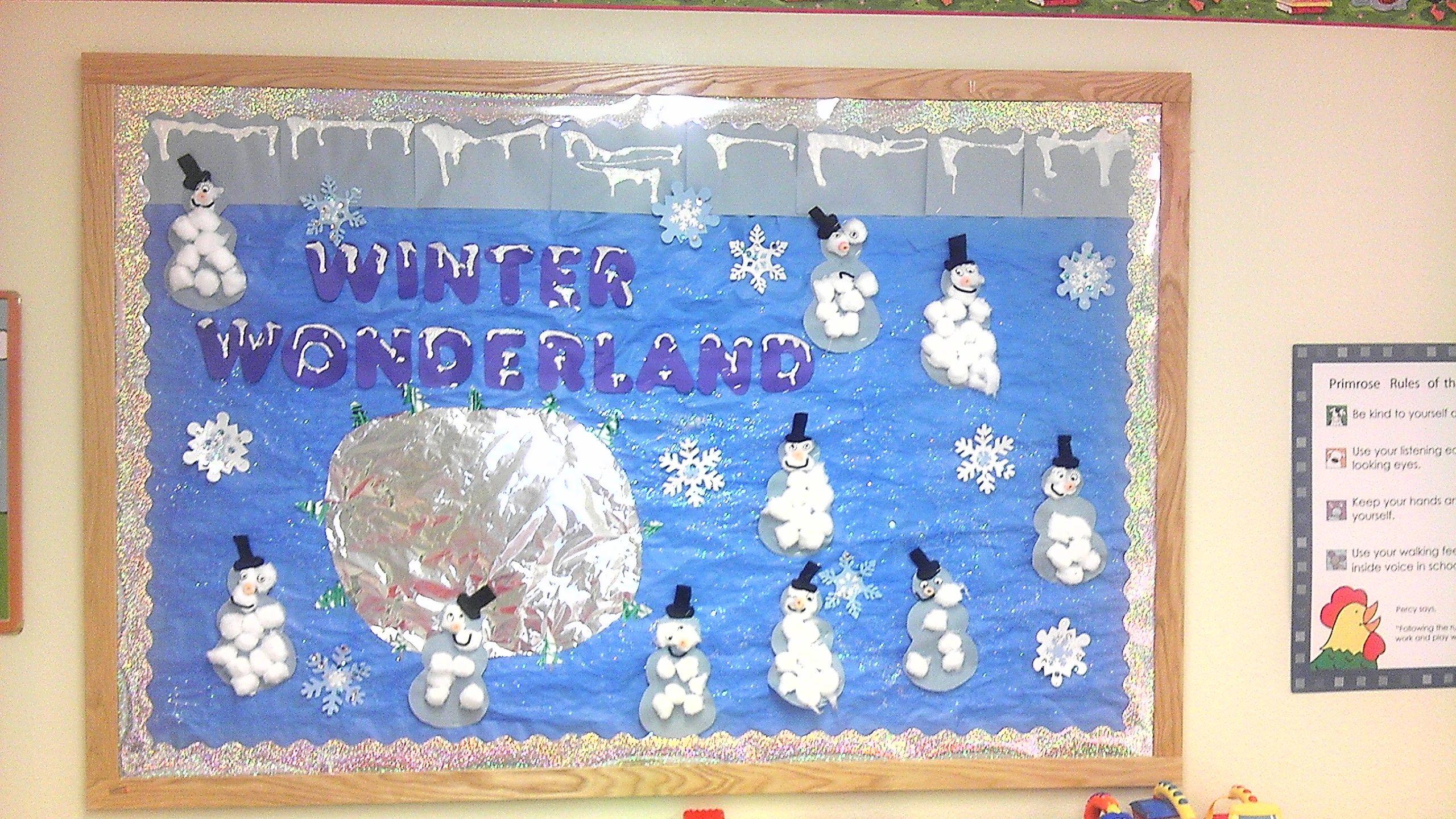 Pin Winter Wonderland Bulletin Display Ideas Vtwctr