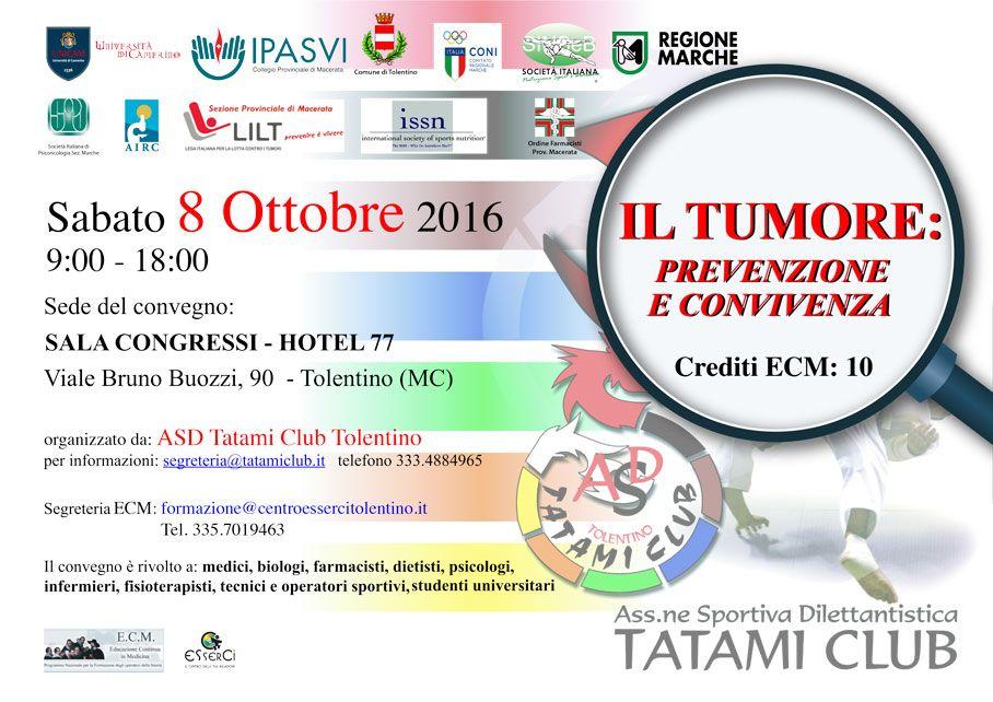 tumori : prevenzione e convivenza