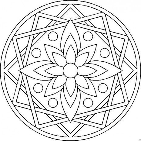 10 Nuevos Dibujos De Mandalas Para Pintar Mandalas Para Colorear