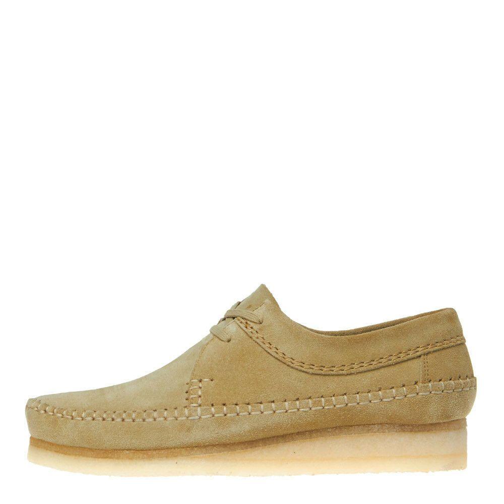 Maple Suede Suede New Mens Clarks Originals  Weaver Shoe