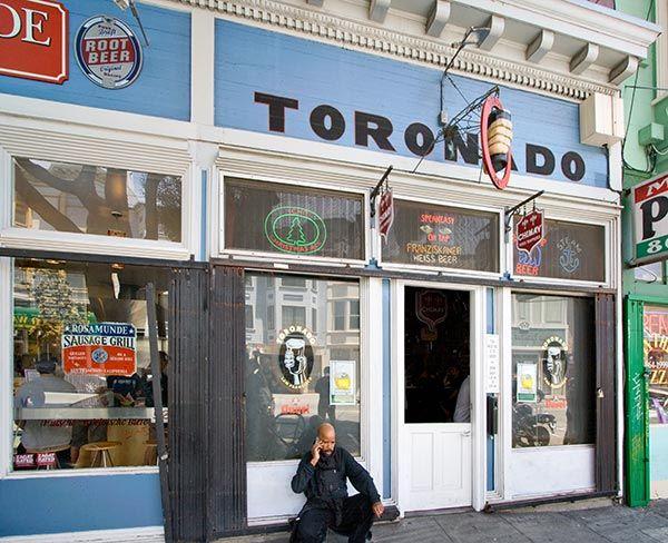 Toronado Pub: 547 Haight St. San Francisco, CA 94117
