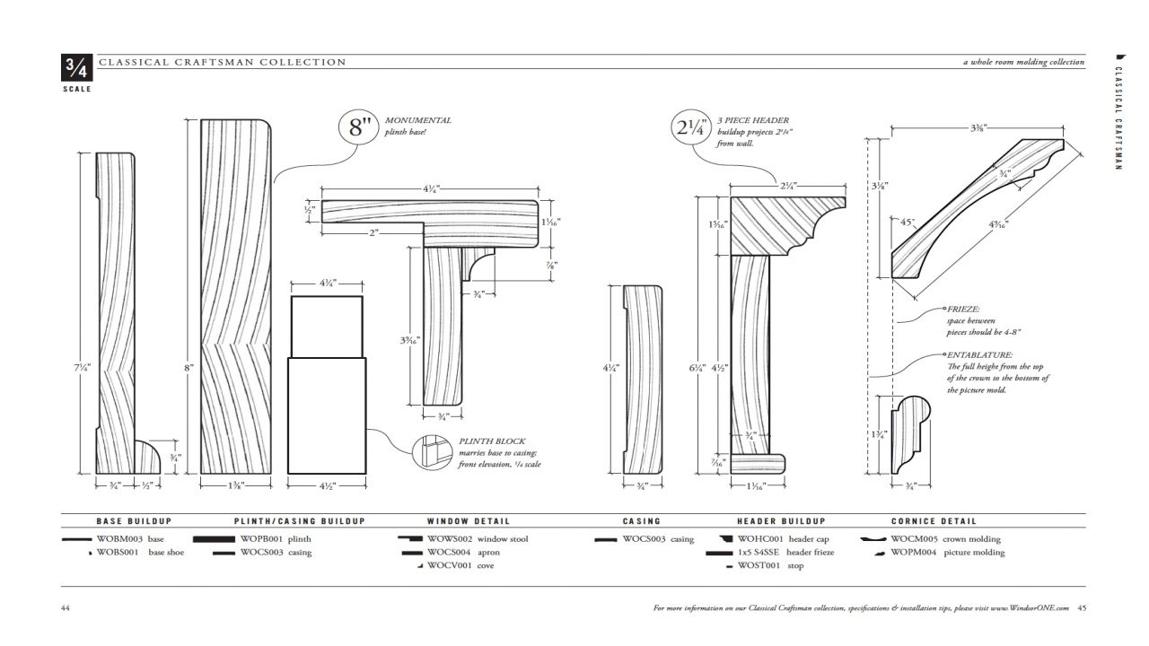Craftsman Style Window Trim Dimensions Shaker Style Window Trim 2fe4b9259bcab1a9 Jpg 1280 720 Craftsman Trim Craftsman Door Moulding Profiles