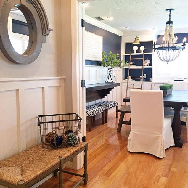 Best Entryway Revere Pewter And Dining Hale Navy Dining Room 640 x 480