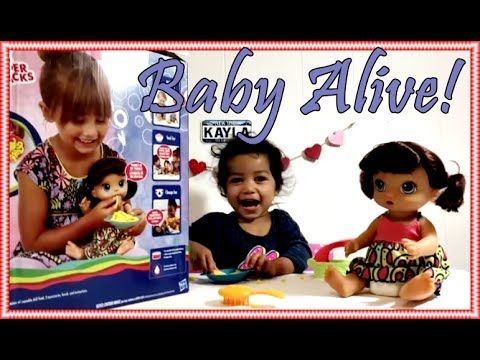 New Baby Alive Super Snacks Snackin Noodles Baby Doll Unboxing And Review Cute New Baby Products Baby Alive Super Snacks
