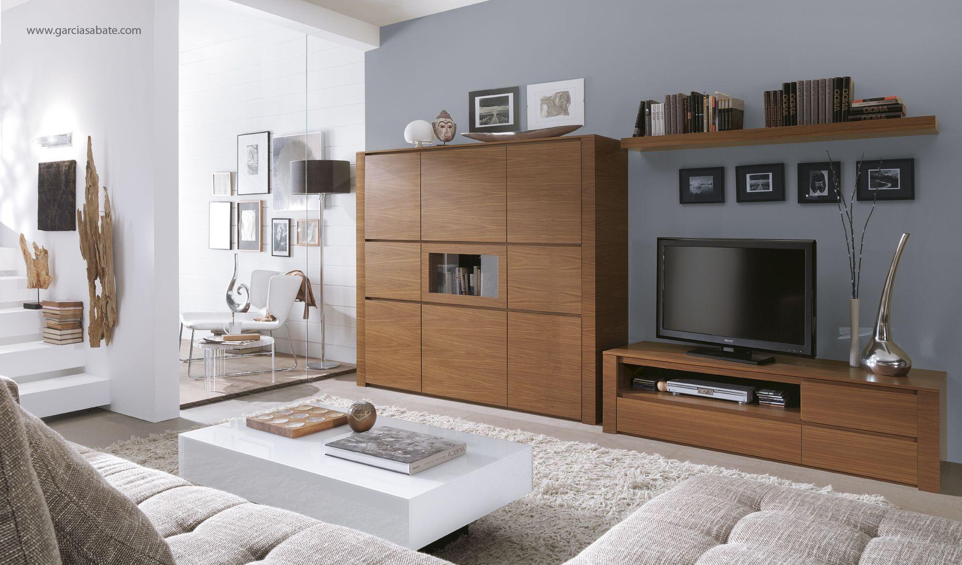 muebles que combinan con el color grafito de las paredes