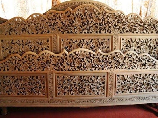 Handicrafts Of India Wood Work Kashmiri Handicraft Home Decor