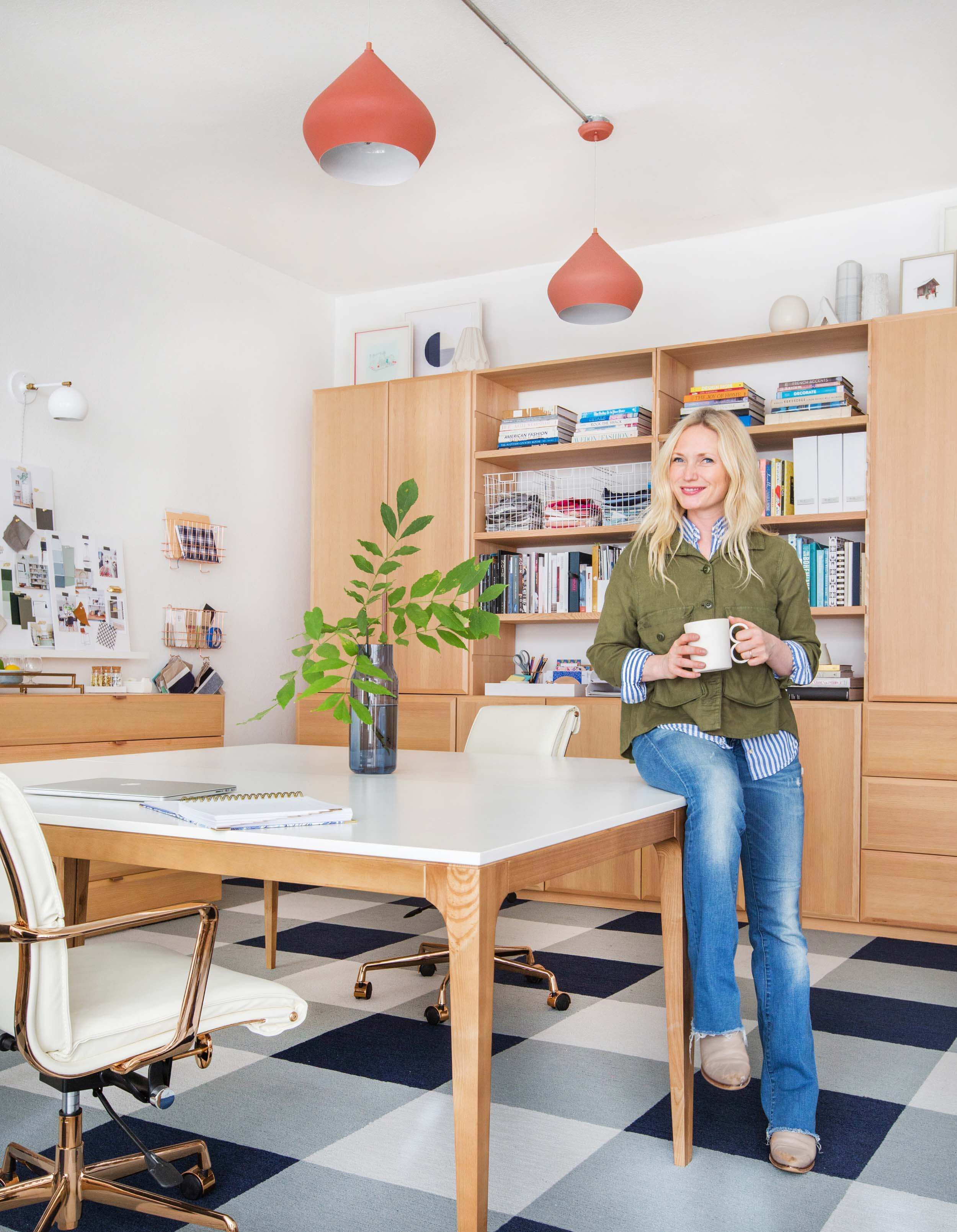 home office home office makeover emily. Emily Henderson Office Makeover Soft Wood Naturally 4th Period Woodshop 2500px 8 · SpacesHome Home E