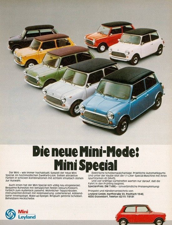 The Mini Unspecified Year The Tragic Leyland Years Auto Ads