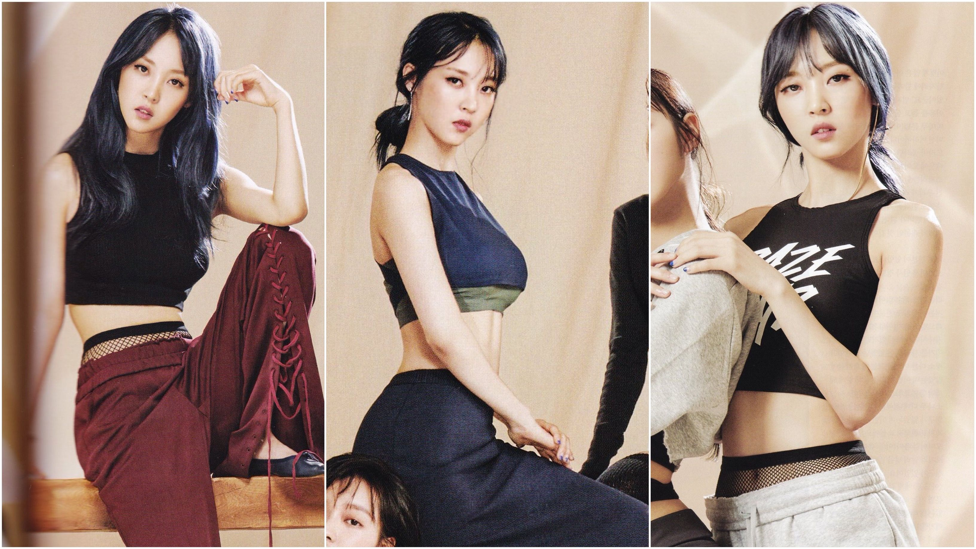 Idol Drama Operation Team To Cosmopolitan Moonbyul Mamamoo Moonbyul Beauty Girl