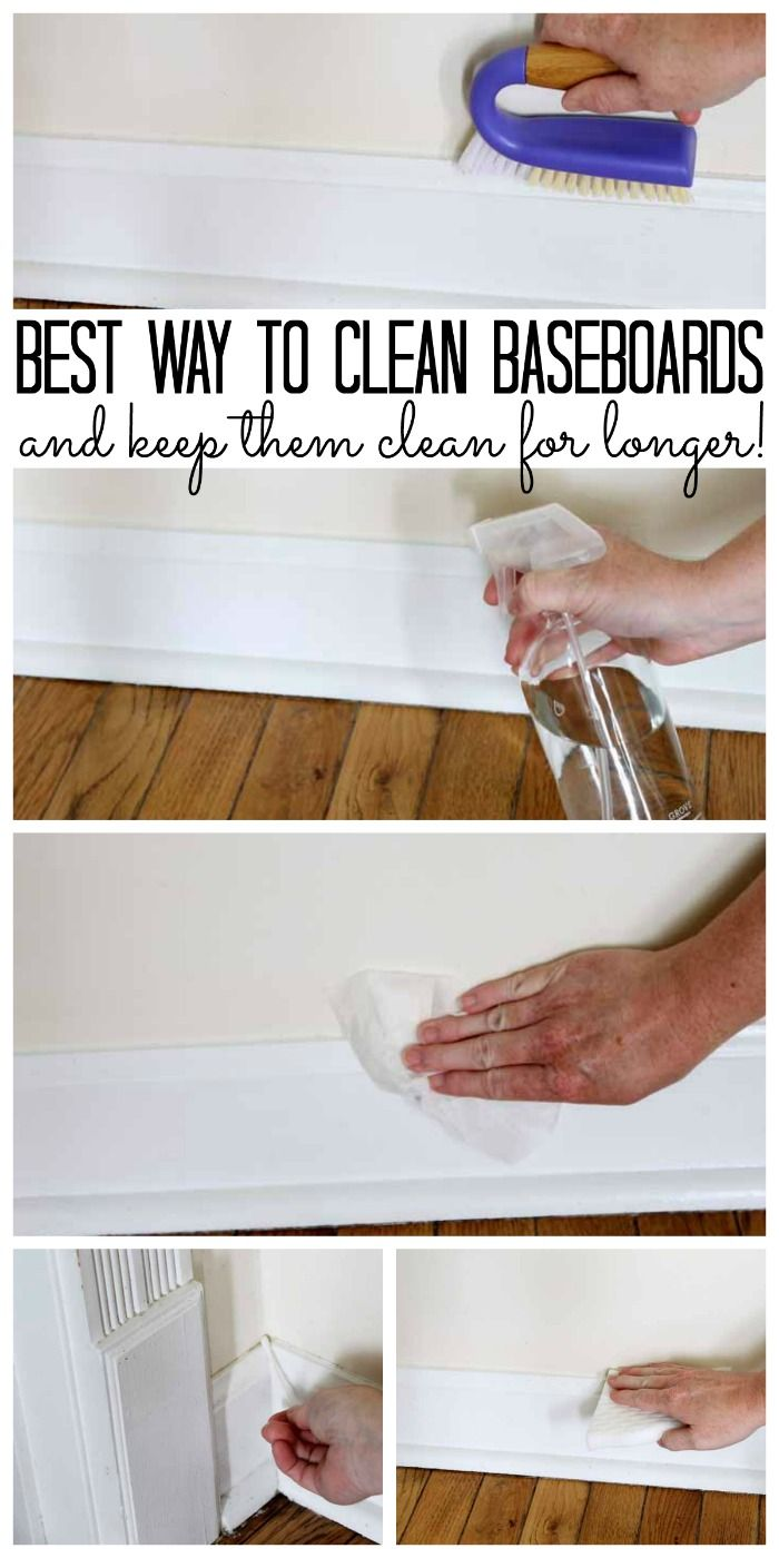 Best Way To Clean Baseboards And Keep