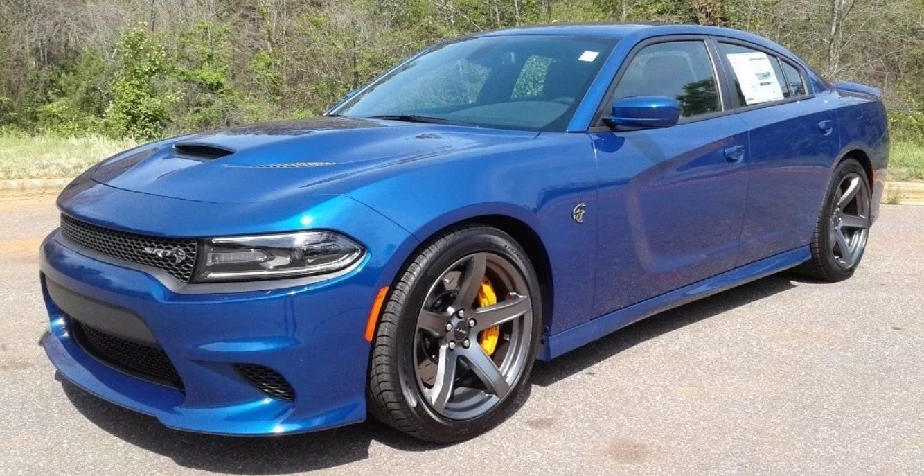 Blue Dodge Charger >> 2018 Indigo Blue Dodge Charger Hellcat Srt Vehicles