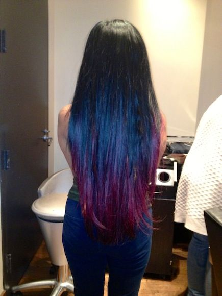 I Love Snooki S Coloured Tips She Did With Her Signature Black