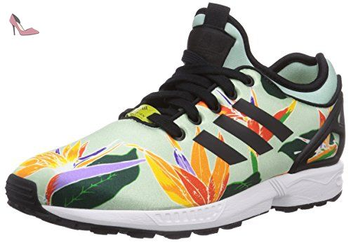 adidas Originals ZX Flux NPS, Sneakers Basses adulte mixte, Vert - Grün  (Blush
