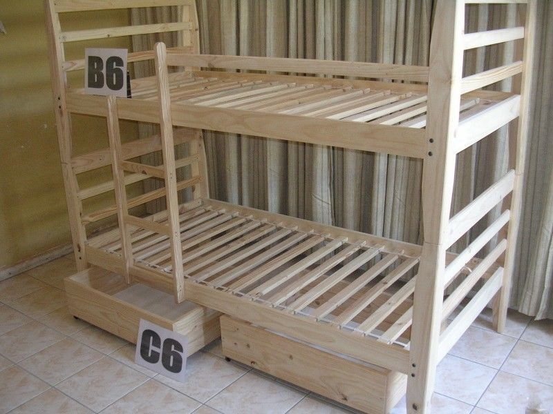 Bunk beds new made only on orderRaw pine R 1280.00 and
