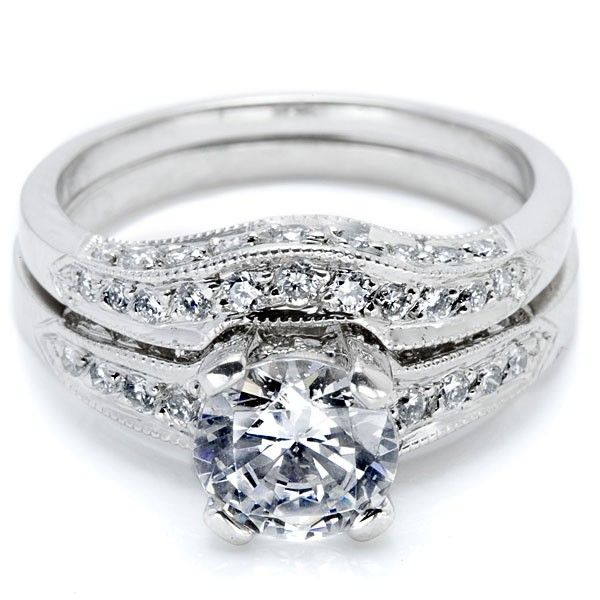 tacori ba4190w wedding ring this tacori crescent