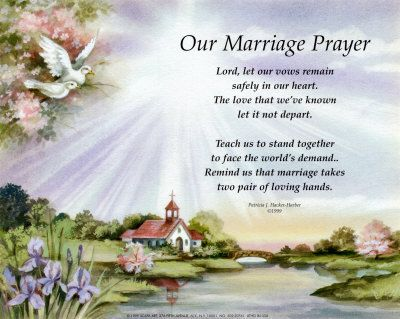 Marriage Prayer Fine Art Print Verse Prints And Posters Pictures