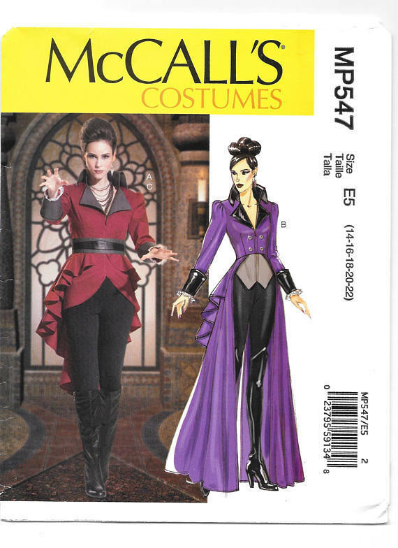 Details about McCALL'S M7641 Misses OUaT Evil Queen or