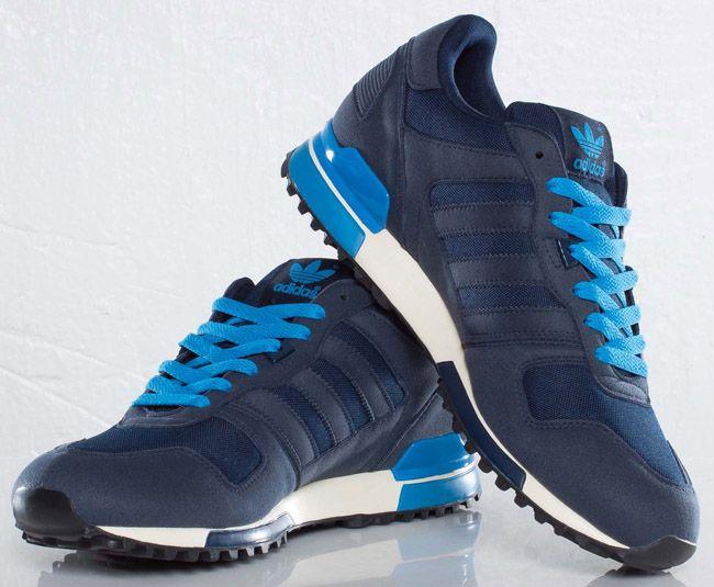 adidas Originals ZX 700   Dark Indigo / Pool Blue