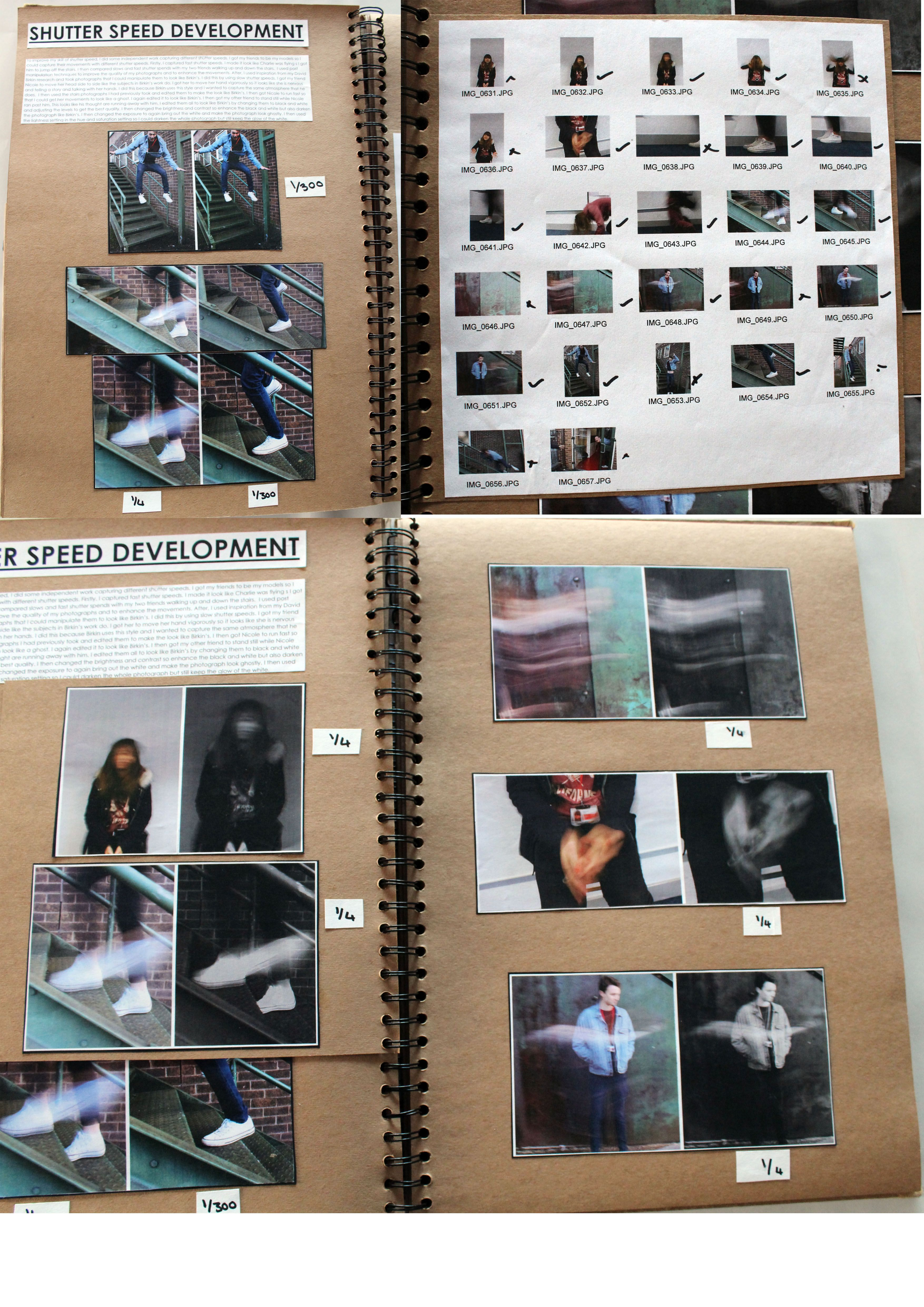 Al Photography A3 Brown Sketchbook Own Shutter Speed Shoot