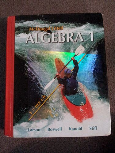 Algebra 1 grade 9 9780618594023 holt mcdougal hardcover like algebra 1 grade 9 9780618594023 holt mcdougal hardcover like new fandeluxe Image collections