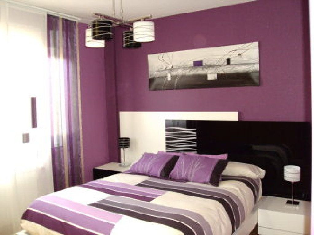 Dormitorios en color morado inspiraci n de dise o de for Ideas para decorar mi dormitorio