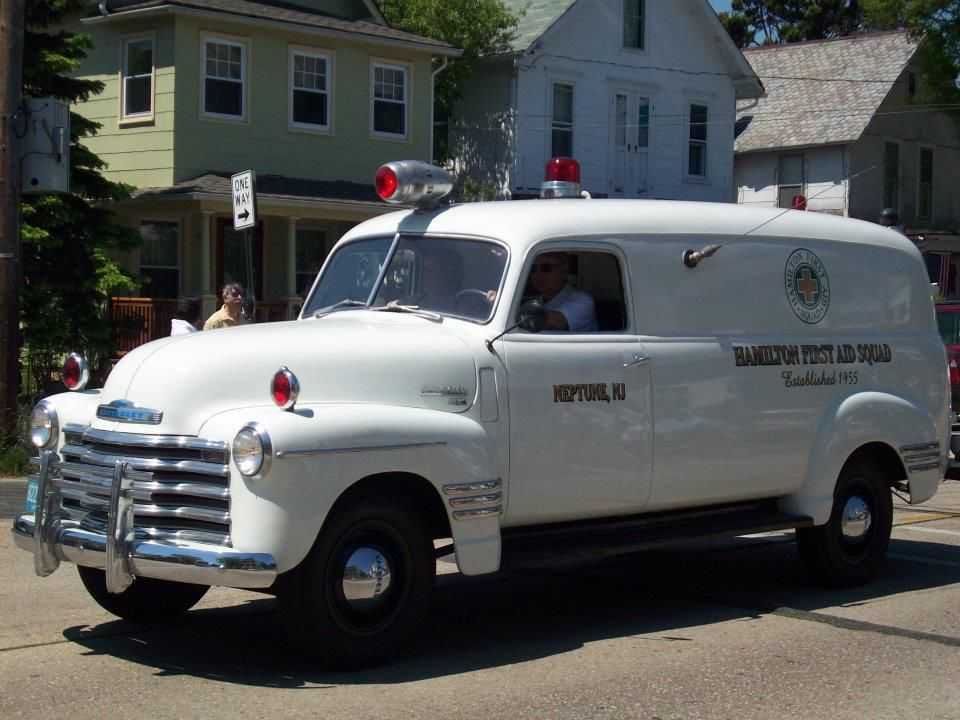 Us Neptune Nj Hamilton First Aid Squad Chevrolet Ambulance Police Truck Ambulance Rescue Vehicles