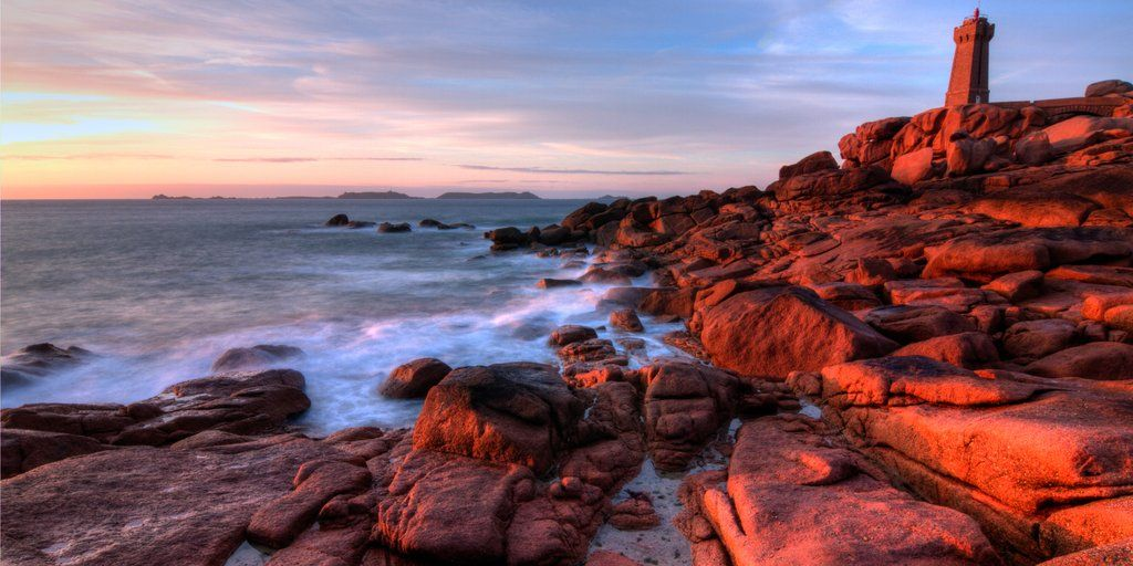 Picture Of The Day The Cote De Granit Rose Brittany France