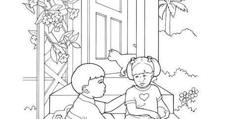 I Can Say I M Sorry Say Im Sorry Coloring Pages Sunbeam Lessons