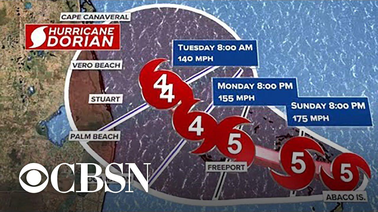 Hurricane Dorian Slams Bahamas As Monster Category 5 Storm National Hurricane Center Hurricane Bahamas