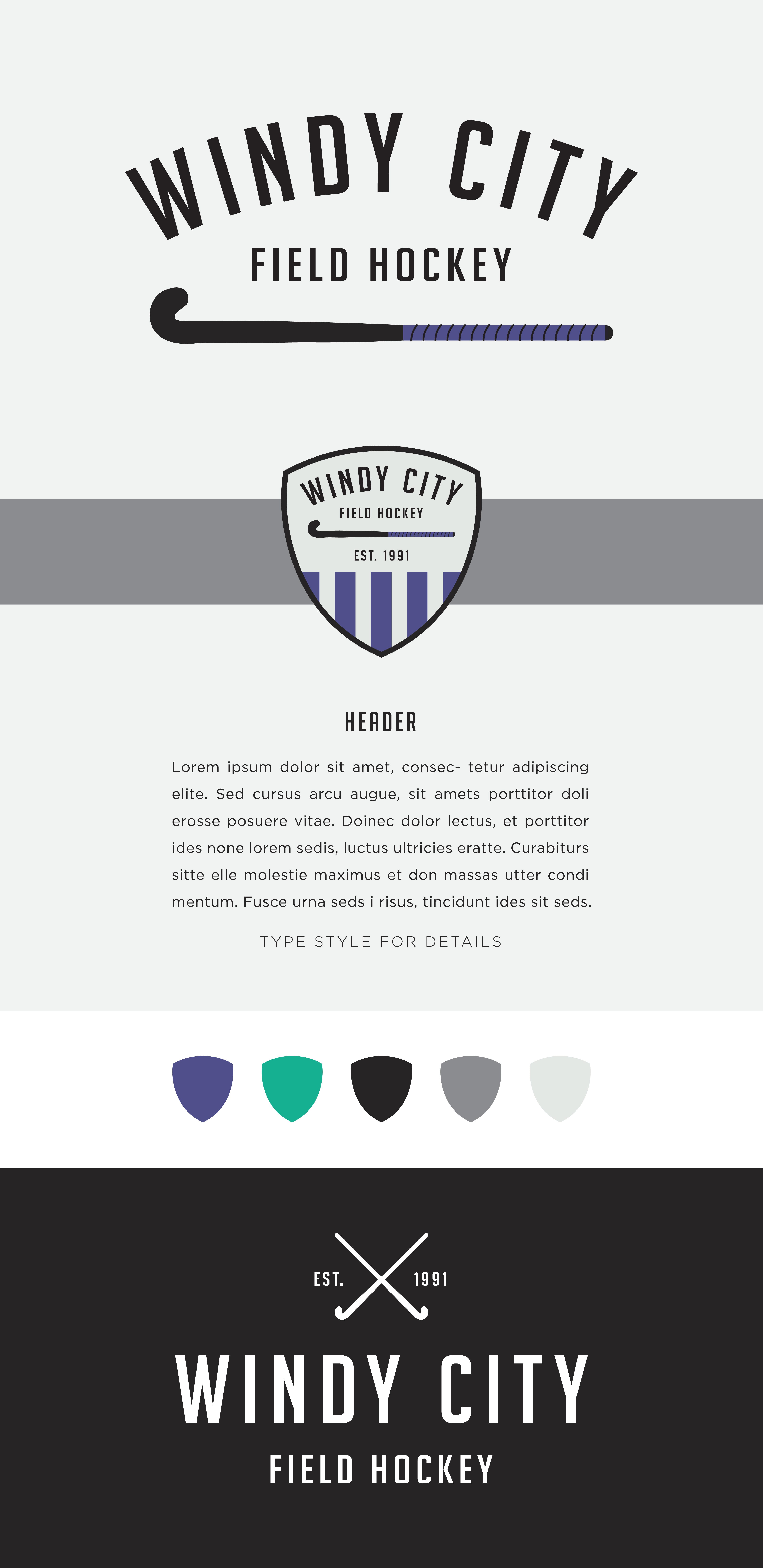 Brand Launch Logo Versatility Dolor