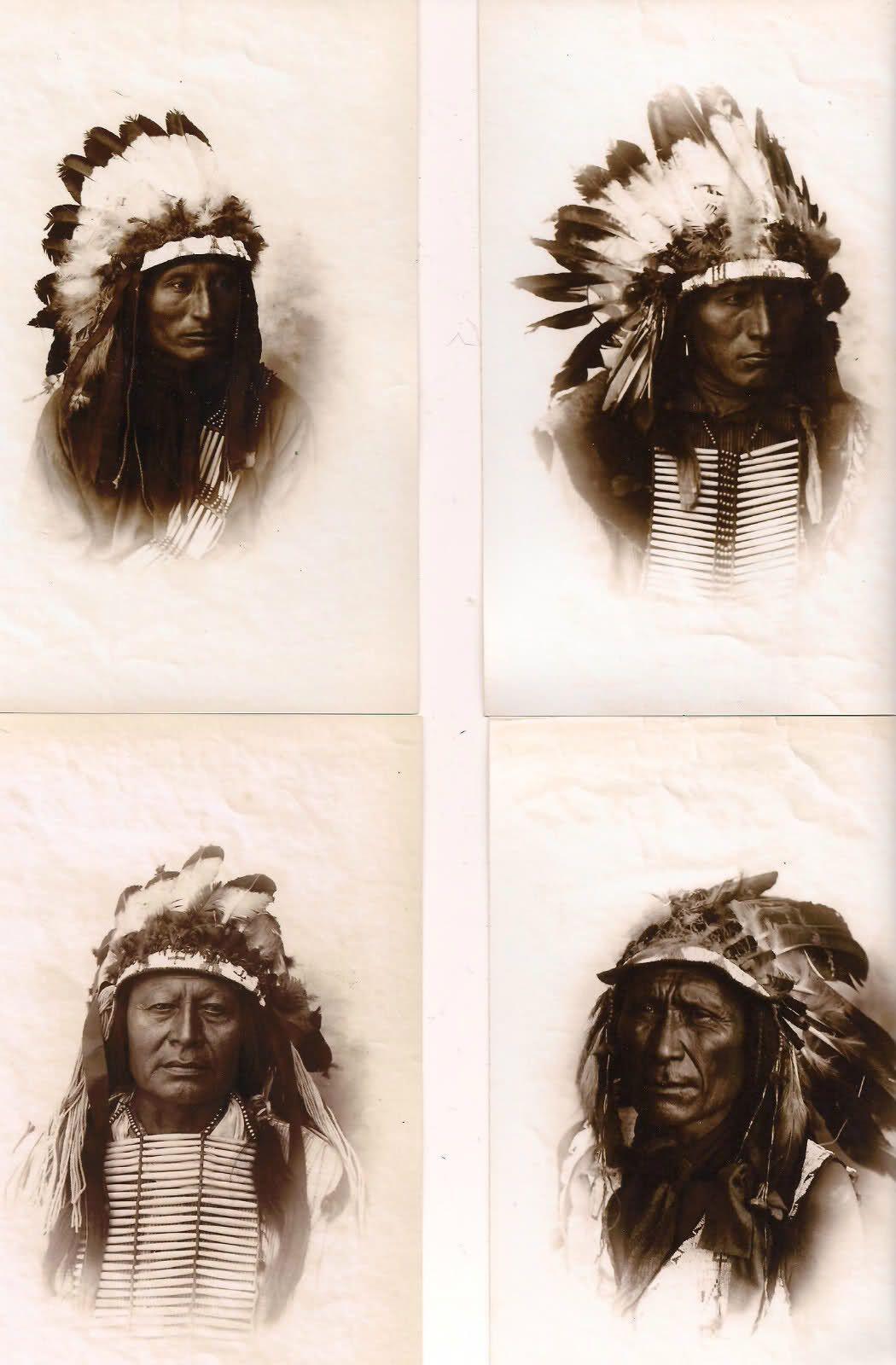 1896 Lakota Sioux in Cincinnati, Ohio. Photos by Enno Meyer.