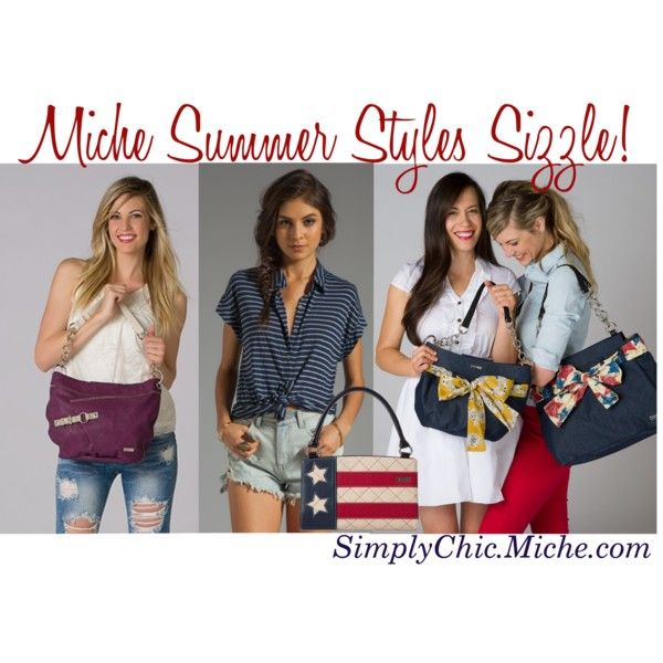 340e958a55 Miche Summer Styles Sizzle! by miche-kat on Polyvore http   www