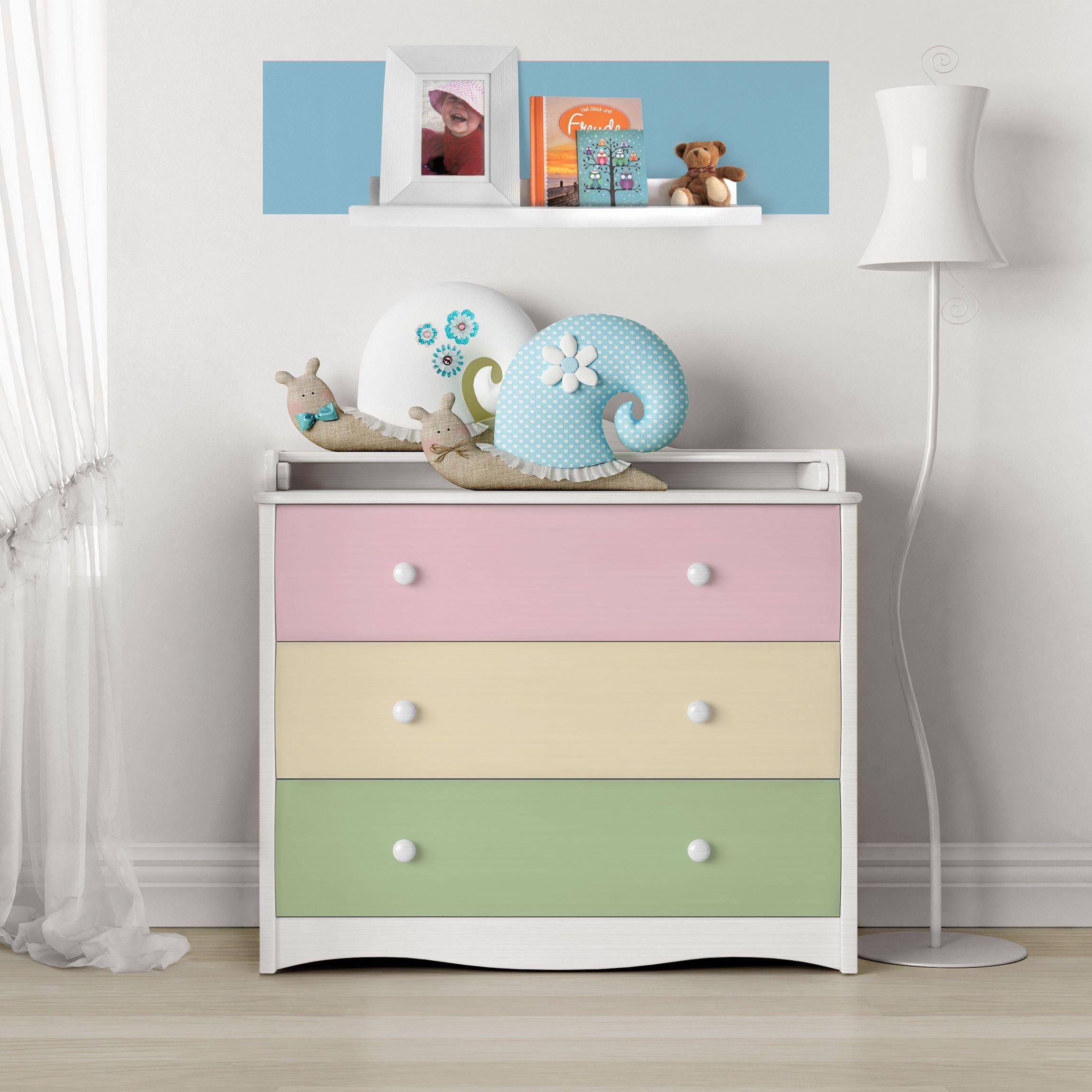 Carta Adesiva per Mobili Set of 4 beautiful pastel