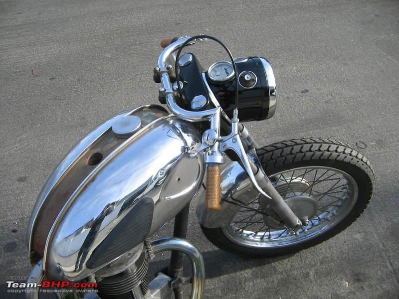 Vintage Motorcycle Handlebars