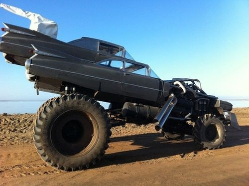 Cadillac Modified Coupe Monster Truck Gigahorse As Seen On