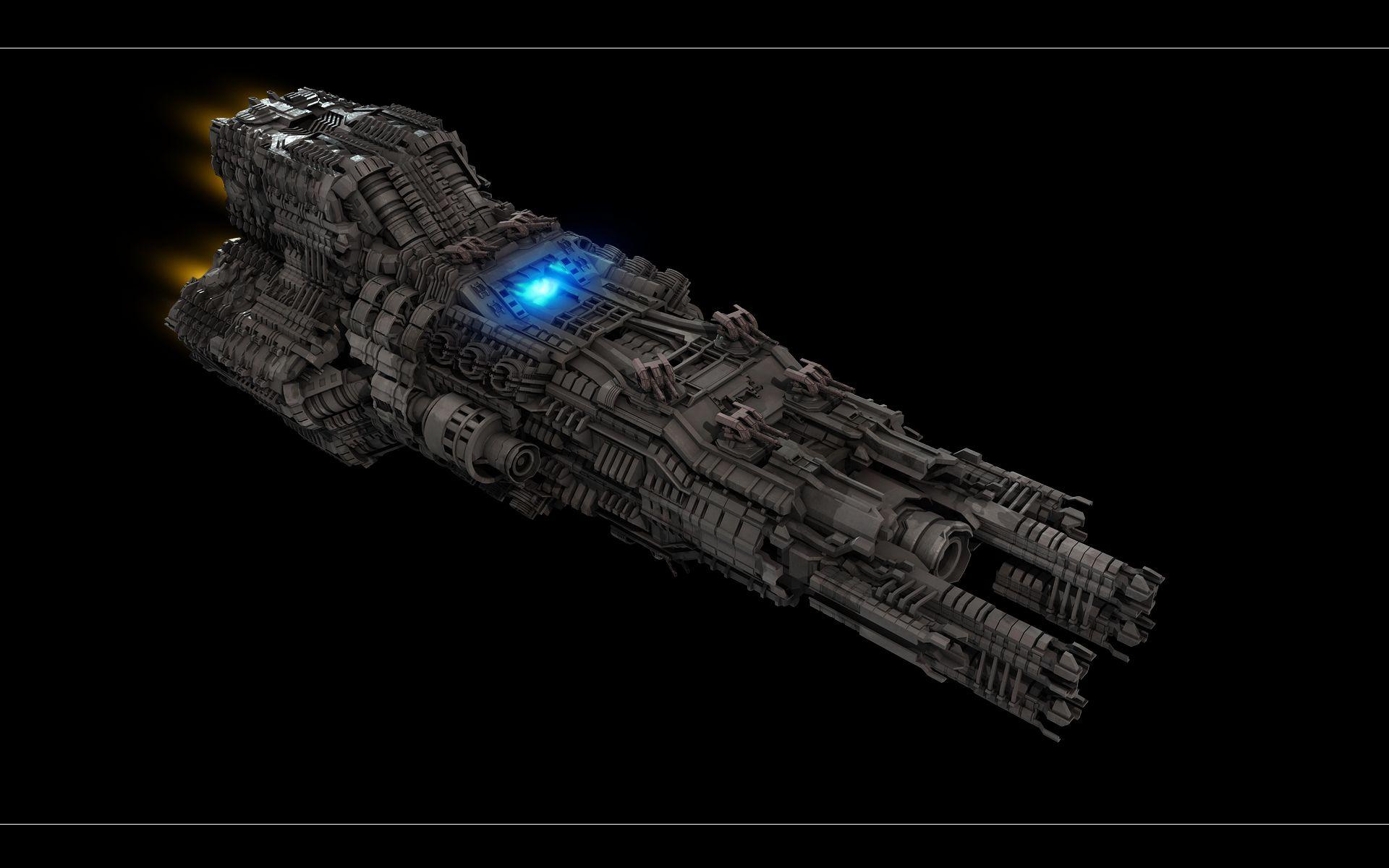 complex spaceship view 1 by ere4s3r on deviantart game art