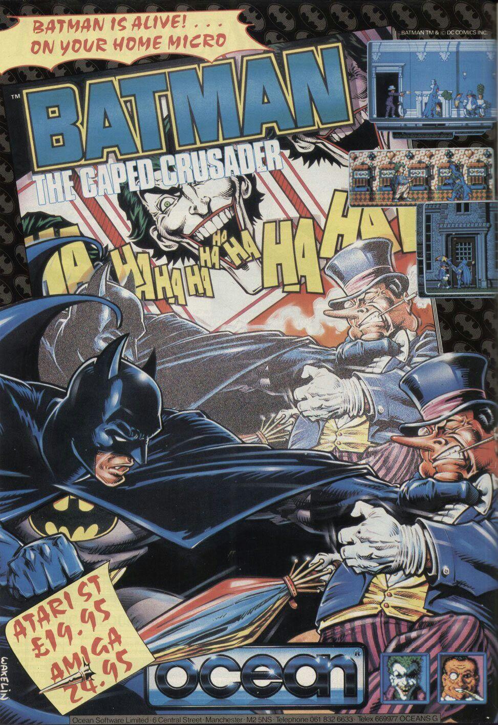 Batman The Caped Crusader (1988) Batman