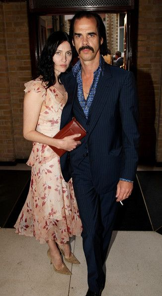 Susie Bick Photos Photos The Mojo Honours List Awards Ceremony Red Carpet Nick Cave Susie Cave The Vampires Wife