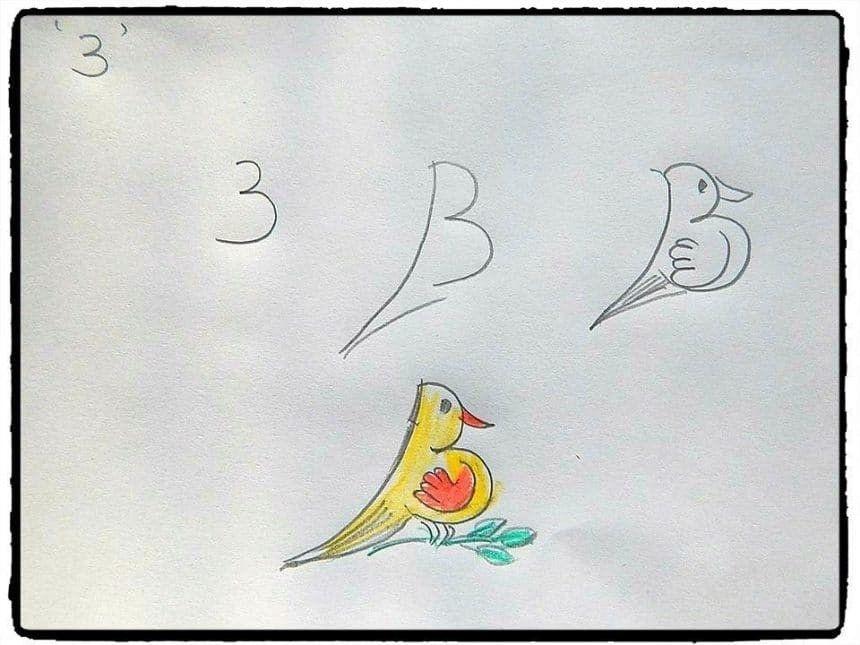 27 Ide Cara Menggambar Hewan Dimulai Dengan Huruf Dan Angka Gambar Simpel Cara Menggambar Gambar Hewan