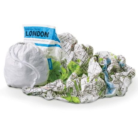 Wander cities in style with a smart and durable map that eschews the fragility and messiness of a traditional paper map. These maps can be easily crammed into your pocket, backpack or the carrying pouch provided, without having to worry about refolding it along the original creases. Printed on 100% waterproof Tyvek, these Italian-designed and made maps are the lightest and most resistant ones on the market.