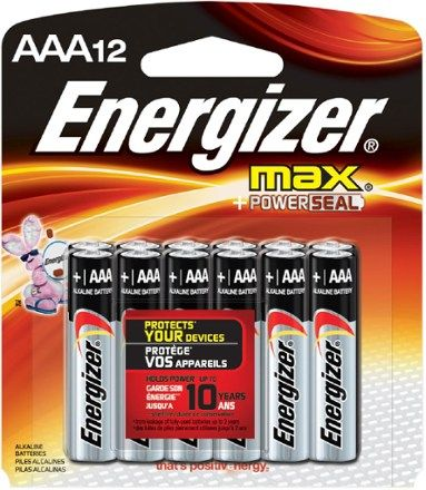 Energizer Alkaline Aaa Batteries Package Of 12 Rei Co Op Energizer Alkaline Battery Energizer Battery