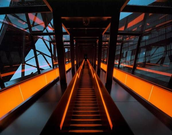 Le Treppenaufgang ruhr museum essen zeche zollverein hg merz treppenaufgang museum