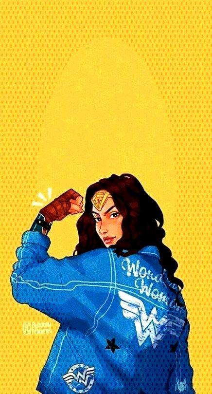 Wonder Woman circa 1990s