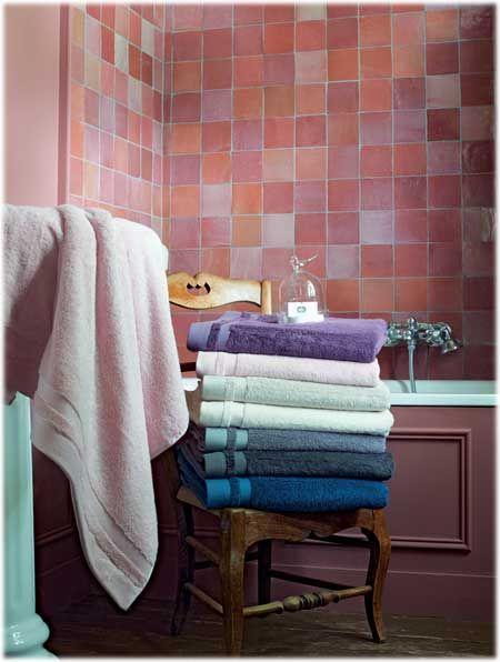 Linge de toilette Garnier Thiebaut. Le modèle \