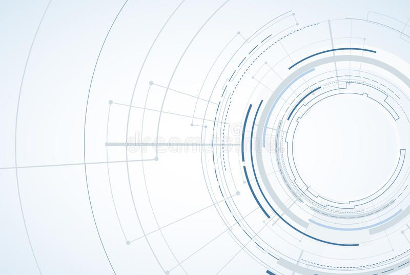 Photo About Abstract Tech Background Futuristic Interface