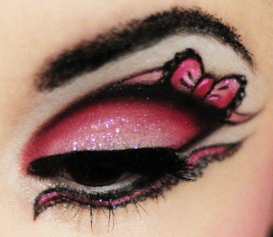 Crazy Eye Makeup Designs - Mugeek Vidalondon