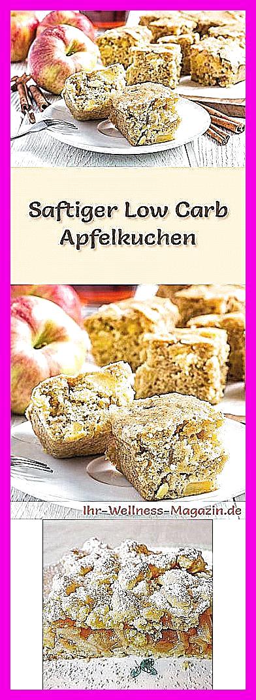 Photo of Rezept für einen saftigen Low Carb Apfelkuchen – kohlenhydratarm, kalorienreduz…