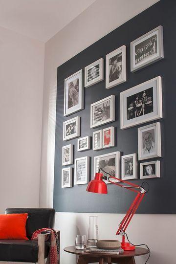 d co photos au mur originale photo deco cadres photos et g ant. Black Bedroom Furniture Sets. Home Design Ideas